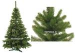 3D vianočný stromček Smrek klasik