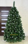 biele vianočné stromčeky