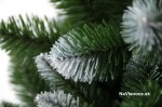 umelý vianočný stromček zasnežená borovica