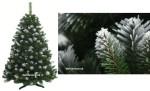 Zasnežený vianočný stromček - zasnežená borovica s umelým 3D snehom.