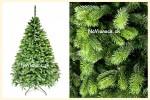 hustý vianočný stromček z 3d ihličia