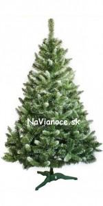 umelý biely vianočný stromček