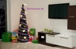 Smrekové kužeľové vianočné stromčeky.