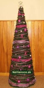 umelé stromčeky na vianoce