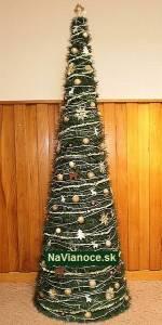 krásne vianočné stromčeky