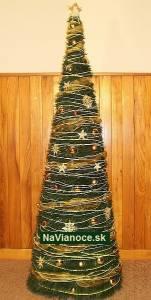 moderné vianočné stromčeky