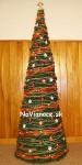 oranžový vianočný stromček