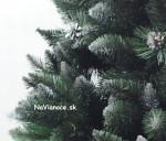 umelý biely stromček na vianoce