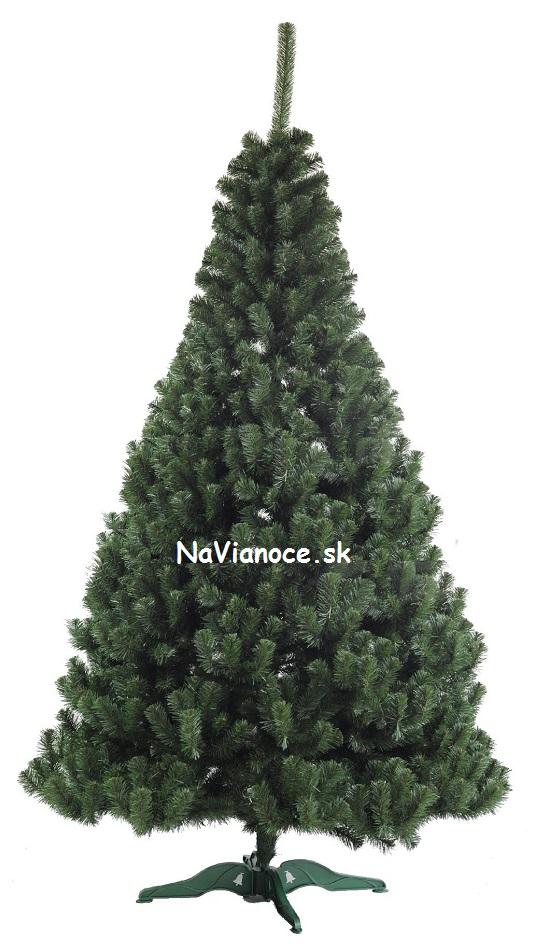 hustý vianočný stromček