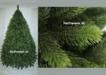 Umelý trojrozmerný vianočný stromček.