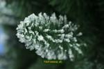 biely umelý stromček