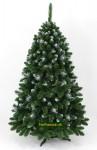 strieborný vianočný stromček