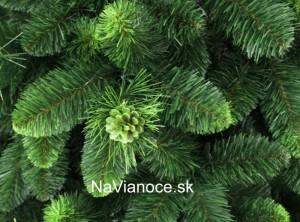 vianočný zelený stromček