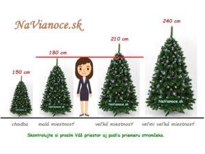 vybrať vianočný stromček