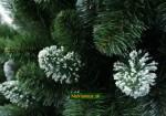 biely stromček na vianoce