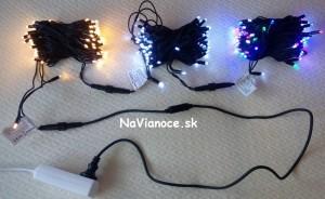 vianočné žiarovky vonkajšie