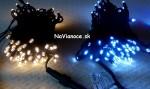 vianočné svetlá vonkajšie