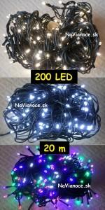 žiarovky na vianočné stromčeky na Vianoce