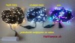 Vnútorné vianočné osvetlenie LED na vianočný stromček.