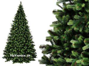 vianočné borovicové stromčeky