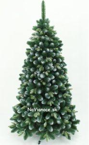 vianočné stromčeky 3d zasnežené umelé borovice