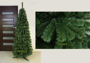 úzke umelé vianočné stromčeky