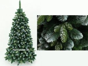 3d snehový umelý vianočný stromček na Vianoce