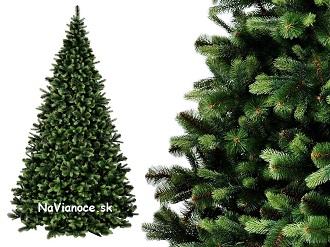 borovicové vianočné stromčeky