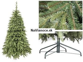 umelé vianočné stromčeky naturálne