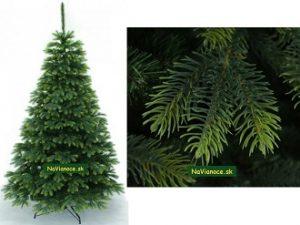 vianočné stromčeky prírodné na Vianoce