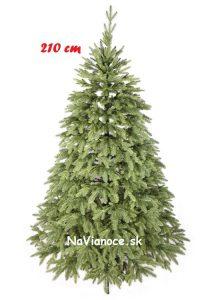 autentický vianočný stromček