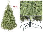 autentický vianočný stromček 3d umelý