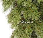 borovicové vianočné stromčeky umelé
