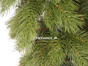 borovicový vianočný stromček umelý