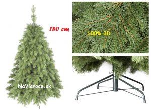 3d vianočný stromček borovica 180