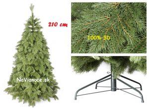 full 3d vianočný stromček