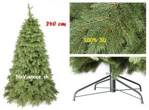 3d vianočný stromček borovica 240