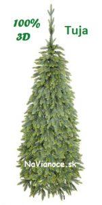 tenké vianočné stromčeky 3D