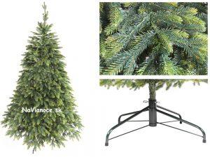 vianočný umelý stromček ako živý