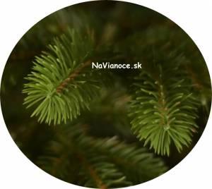 umelé stromčeky na Vianoce s 3d ihličím
