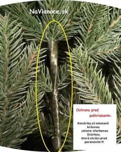 umelé vianočné stromčeky a ich ochrana