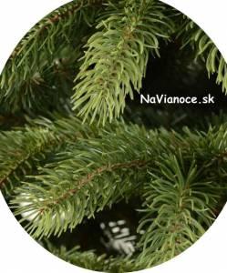 hustota ihličia umelých stromčekov