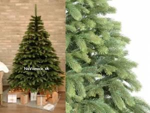 ukážka rozloženého vianočného stromčeka