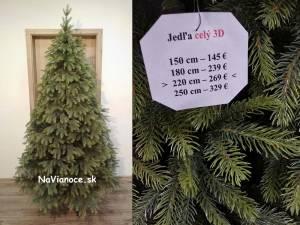 atraktívny vianočný stromček